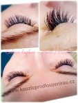 #lashes pink